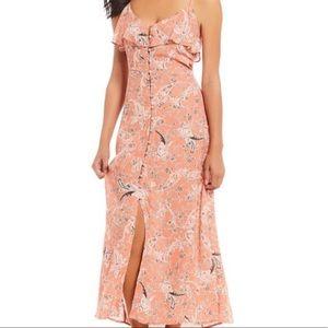 Sanctuary Isabella Button Down Maxi Dress